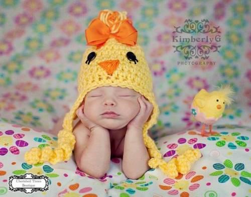 Вязаные шапочки новорожденных своими руками